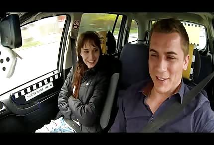 Taxikář chce mrdat
