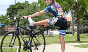 Masáž po jízdě na kole