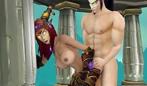 Porno animace ze světa WOW část 2