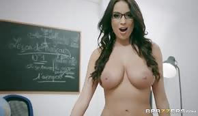Anální sex s krásným učitelem