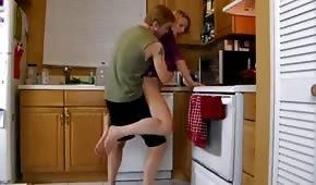 Rychlé občerstvení pro kuchyňský stojan