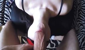 Obrovský penis v amatérském utachu