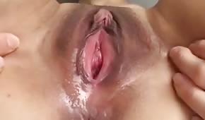 Zblízka mokré píči