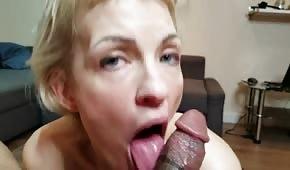 Amatér má rád čokoládový penis